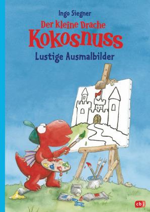 Der kleine Drache Kokosnuss - Lustige Ausmalbilder