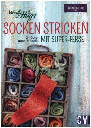 Woolly Hugs Socken stricken mit Super-Ferse