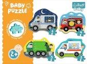 Beruf und Fahrzeuge (Kinderpuzzle)