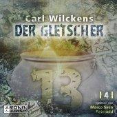 Dreizehn - Der Gletscher, Audio-CD, MP3