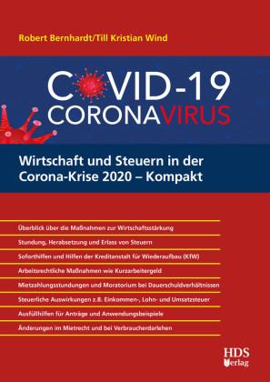 Wirtschaft und Steuern in der Corona-Krise 2020 - Kompakt
