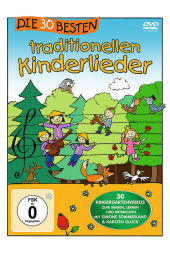 Die 30 besten traditionellen Kinderlieder, 1 DVD Cover