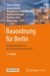 Bauordnung für Berlin, m. 1 Buch, m. 1 E-Book