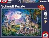 Wolfsfamilie (Puzzle)