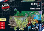 Krimi Puzzle: Die drei ??? Kids 200 Teile - T-Rex in Action (Kinderspiel)