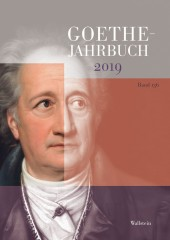 Goethe-Jahrbuch 136, 2019