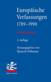 Europäische Verfassungen 1789-1990