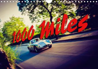 1000 Miles (Wall Calendar 2021 DIN A4 Landscape)
