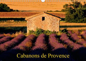 Cabanons de Provence (Calendrier mural 2021 DIN A3 horizontal)