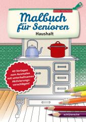 Malbuch für Senioren. Haushalt
