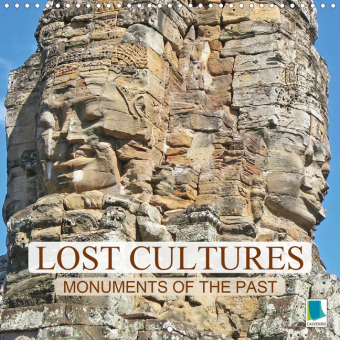 Lost cultures - Monuments of the past (Wall Calendar 2021 300 × 300 mm Square)
