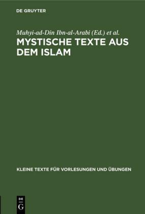 Mystische Texte aus dem Islam