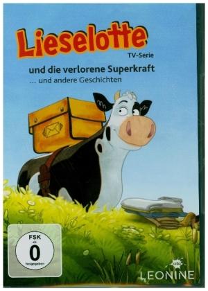 Lieselotte und die verlorene Superkraft, 1 DVD