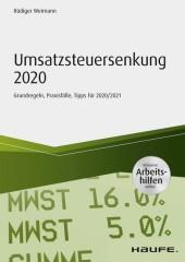 Umsatzsteuersenkung 2020 - inkl. Arbeitshilfen online