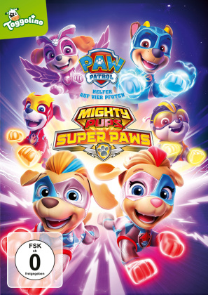 Paw Patrol: Mighty Pups Super PAWs, 1 DVD