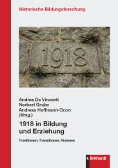 1918 in Bildung und Erziehung