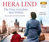 Die Frau zwischen den Welten, 1 Audio-CD, Cover