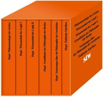Hegel, Georg Wilhelm Friedrich: Die Hauptwerke, 6 Bde.