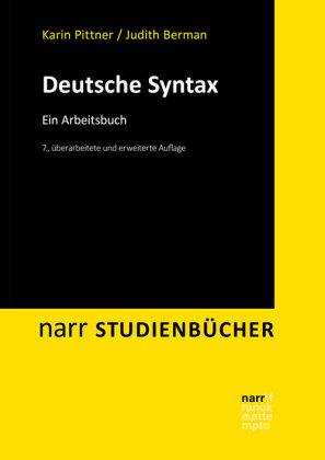 Pittner, Karin; Berman, Judith: Deutsche Syntax