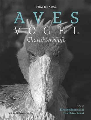 Aves , Vögel. Charakterköpfe