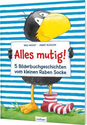 Der kleine Rabe Socke: Alles mutig!