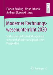 Moderner Rechnungswesenunterricht 2020