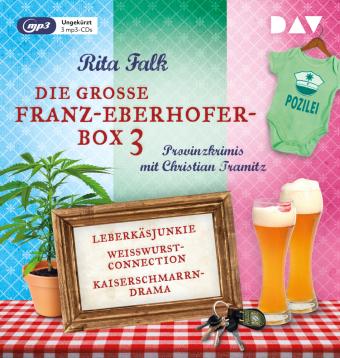 Die große Franz-Eberhofer-Box 3, 3 Audio-CD, 3 MP3