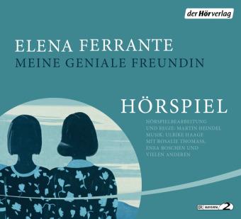 Meine geniale Freundin - Das Hörspiel, 4 Audio-CD