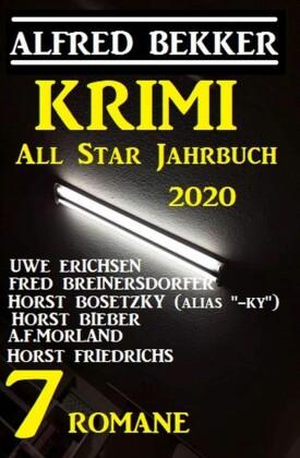 Das Krimi All Star Jahrbuch 2020: 7 Romane