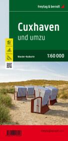 Cuxhaven und umzu, Wander- und Radkarte 1:60.000, mit Infoguide