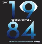 1984, 2 Audio-CD, MP3 Cover