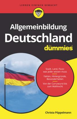 Allgemeinbildung Deutschland für Dummies