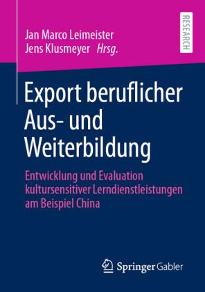 Export beruflicher Aus- und Weiterbildung