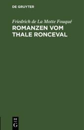 Romanzen vom Thale Ronceval
