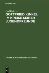 Gottfried Kinkel im Kreise seiner Jugendfreunde