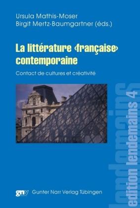 La littérature 'française' contemporaine