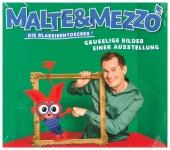 Malte & Mezzo - Gruselige Bilder einer Ausstellung, 1 Audio-CD