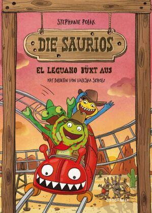 Die Saurios. El Leguano büxt aus