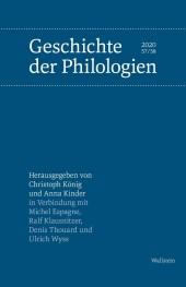 Geschichte der Philologien