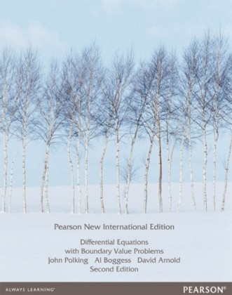 Differential Equations with Boundary Value Problems: Pearson New International Edition
