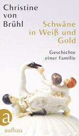 Schwäne in Weiß und Gold Cover