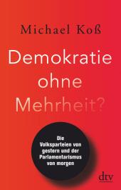 Demokratie ohne Mehrheit? Cover