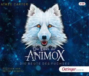 Die Erben der Animox 1. Die Beute des Fuchses, 4 Audio-CD