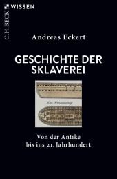 Geschichte der Sklaverei Cover