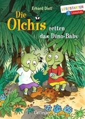 Die Olchis retten das Dino-Baby Cover