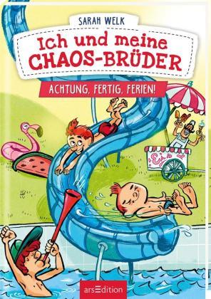Ich und meine Chaos-Brüder - Achtung, fertig, Ferien! (Ich und meine Chaos-Brüder 4)