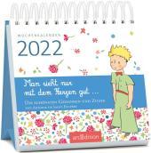 Miniwochenkalender Man sieht nur mit dem Herzen gut ... 2022