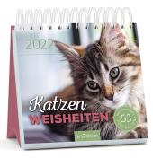 Katzenweisheiten 2022, Postkarten-Kalender Cover