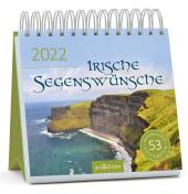 Irische Segenswünsche 2022, Postkarten-Kalender Cover