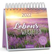 Postkartenkalender Lebensweisheiten 2022